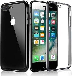 ETUI ELEGANCE PLATE iPHONE 7+ 8+ +SZKŁO (grey)
