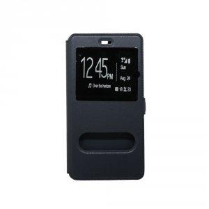 Etui futerał s-view cover - Huawei Y6 II (czarny)