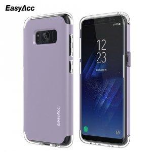 EasyAcc Case Shockproof Protective Dual Layer Bumper TPU + PC Etui Slim Armor Samsung Galaxy S8 (fiolet)