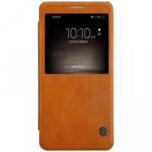 Huawei Mate 9 - etui na telefon - Nillkin Qin brązowe
