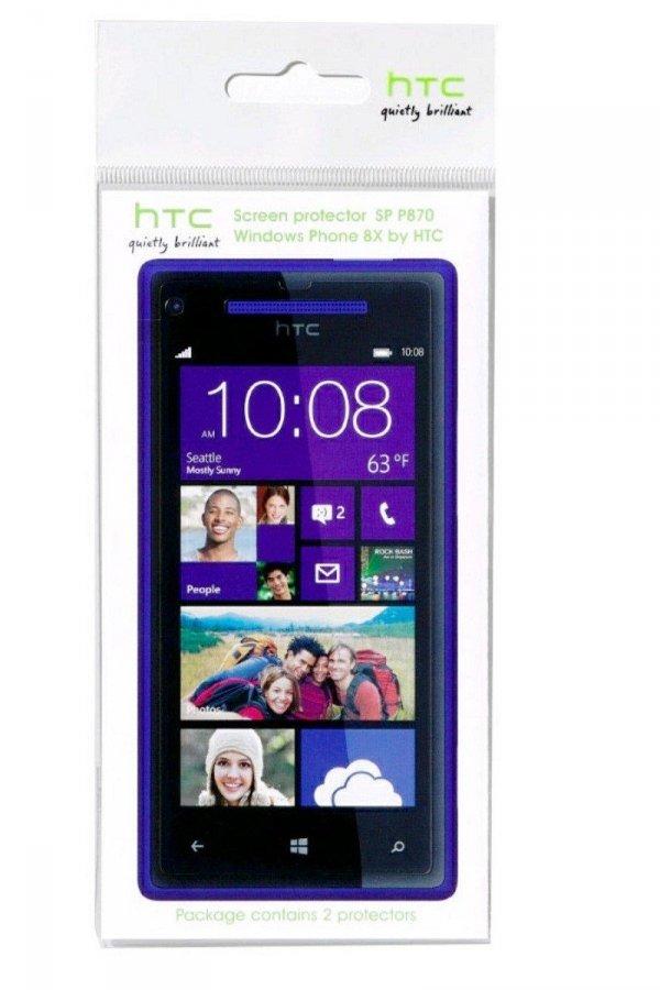 ORYGINALNA FOLIA OCHRONNA HTC SP P870 do HTC 8X (2 SZT.)