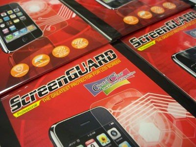 SCREENGUARD FOLIA OCHRONNA CrystalClear do SAMSUNG WAVE 525 S5250