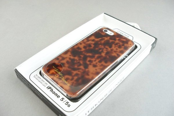 ITSKINS ETUI BACK CASE TORTOISE DIVINE IPHONE 5 5S SE