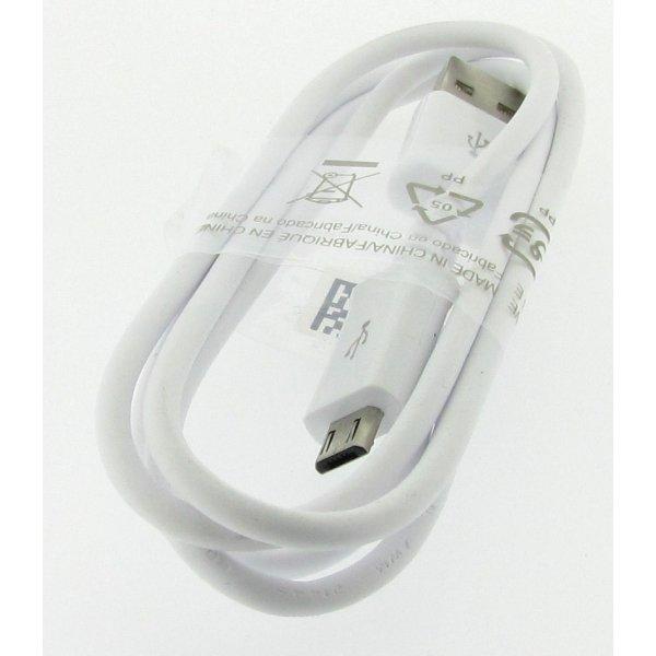 SAMSUNG ECB-DU4AWE - ORYGINALNY KABEL USB - MICRO USB dł. 1m (biały)