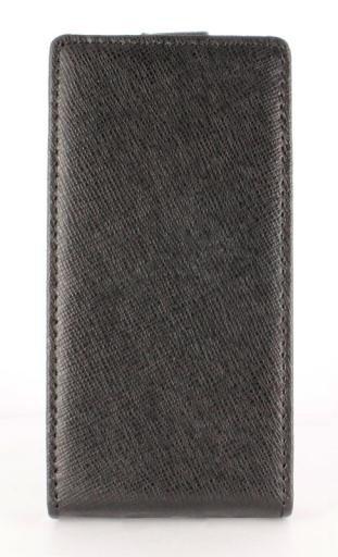 SWISS CHARGER ETUI Flip Case Kabura pionowa Sony XPeria U (czarny)