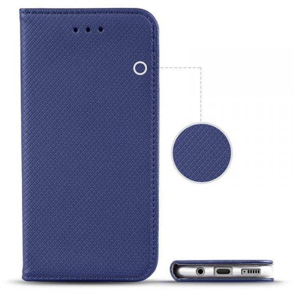 Etui OPPO RENO 5 4G / 5G portfel z klapką Flip Magnet granatowe