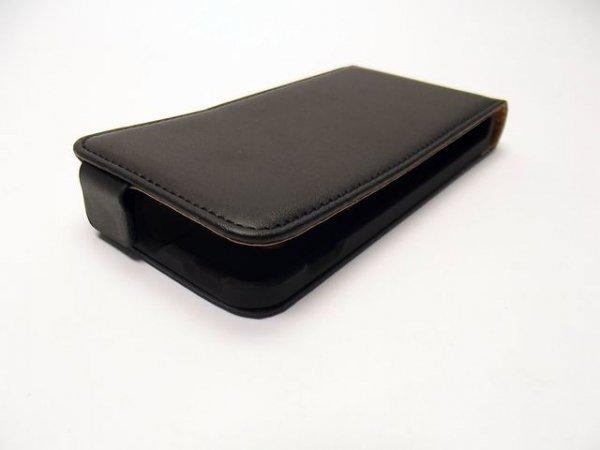 PRESTIGE LINE - ETUI FLIP CASE DO HUAWEI ASCEND Y300 (czarne)