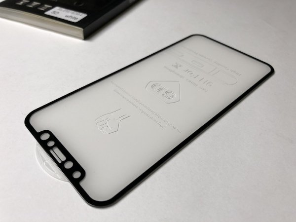 HardGlass MAX 5D - Szkło Hartowane na cały ekran do Apple iPhone XR