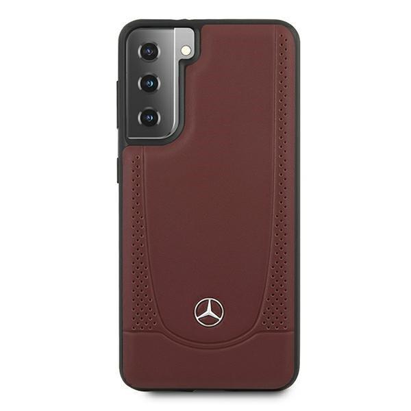 Etui Mercedes MEHCS21SARMRE S21 G991 czerwony/red hardcase Urban Line