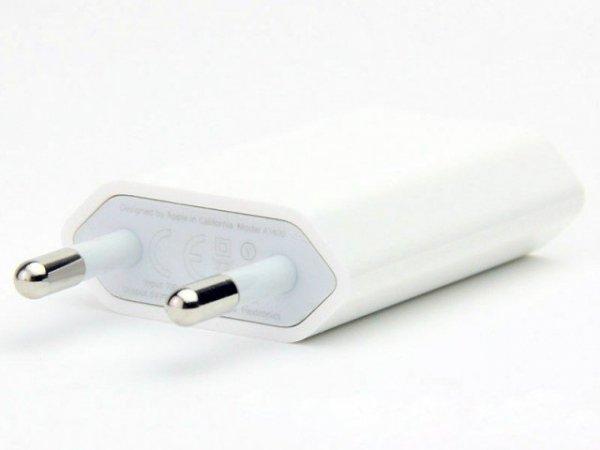 ORYGINALNA ŁADOWARKA SIECIOWA APPLE do iPhone 6 5 5S SE 4 4S 3G 3GS A1400