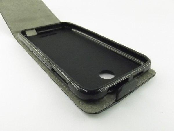 ETUI SLIM FLEXI FUTERAŁ KABURA - HTC DESIRE 510 (czarne)