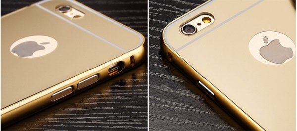 ALUMINIOWY BUMPER ETUI do Apple iPhone 6 6S (2 kolory)