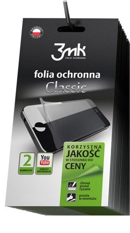 3MK CLASSIC FOLIA Alcatel One Touch Idol 2S 6050Y - 2szt