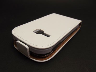 PRESTIGE SLIM - ETUI FlipCover SAMSUNG GALAXY YOUNG S6310 (białe)