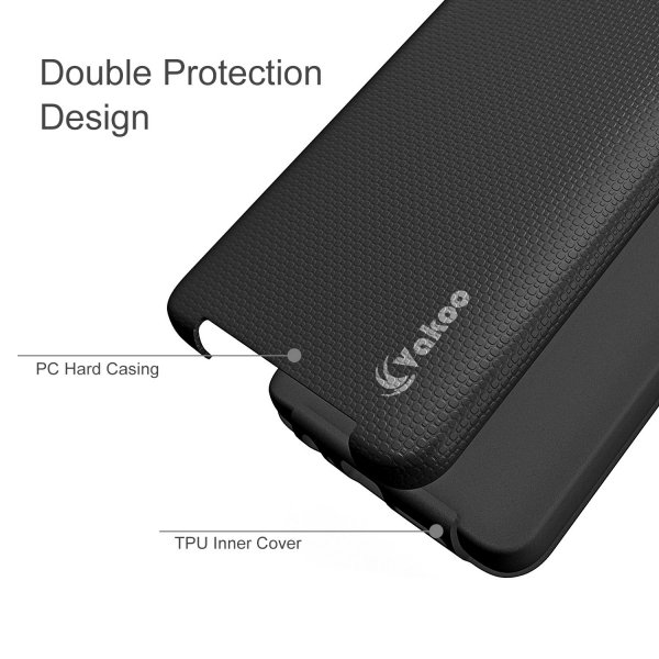 VAKOO Etui Case Heavy Duty Drop Protection - ONEPLUS 3 3T (Black)