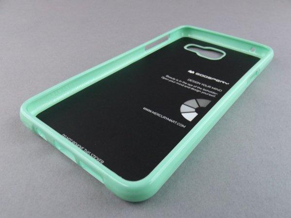 MERCURY JELLY CASE ETUI BACK COVER Samsung Galaxy A5 2016 A510 A510F (mietowy)