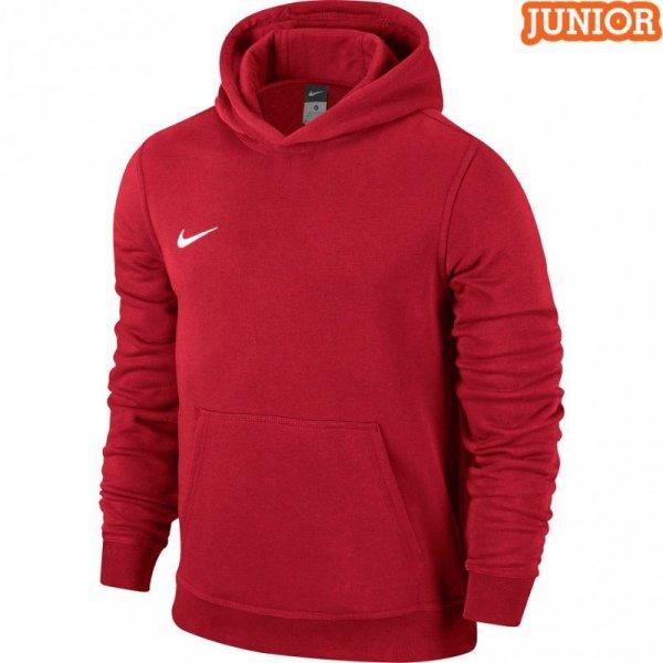 Bluza dla dzieci Nike Team Club Hoody czerwona 658500 657