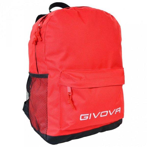 Plecak Givova Zaino Scuola czerwony