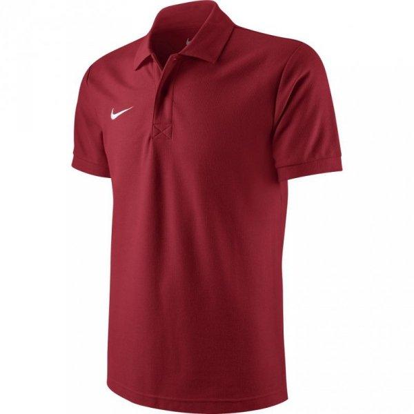 Koszulka męska Nike Team Core Polo czerwona 454800 657