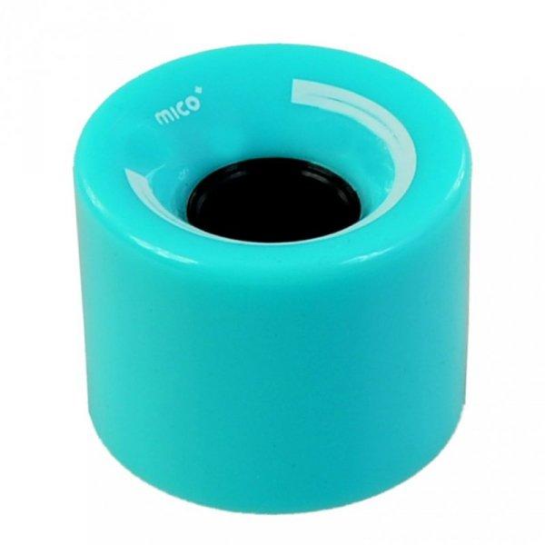 Kółka Mico do deskorolki plastikowej 60x45mm 4szt j.niebieski