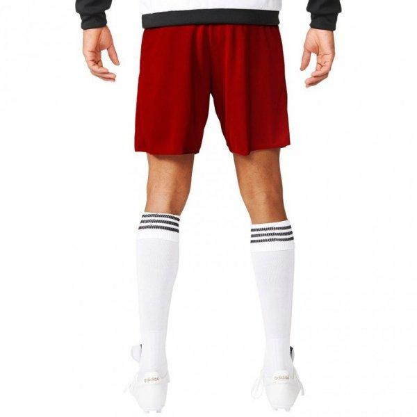 Spodenki dla dzieci adidas Parma 16 JUNIOR czerwone AJ5881/AJ5893