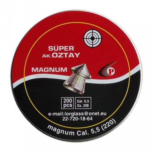 Śrut Tajgun Oztay 5,5mm Szpic 200szt