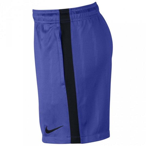 Spodenki dla dzieci Nike Squad Jaq KZ JUNIOR niebieskie 870121 452