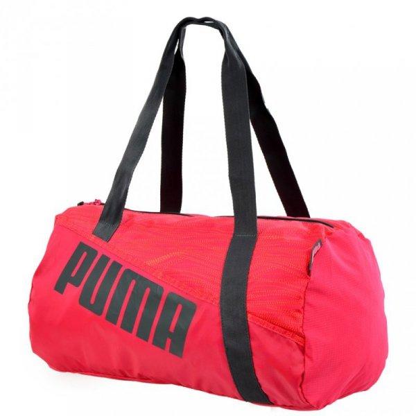 Torba Puma Studio Barrel czerwona 73816 02