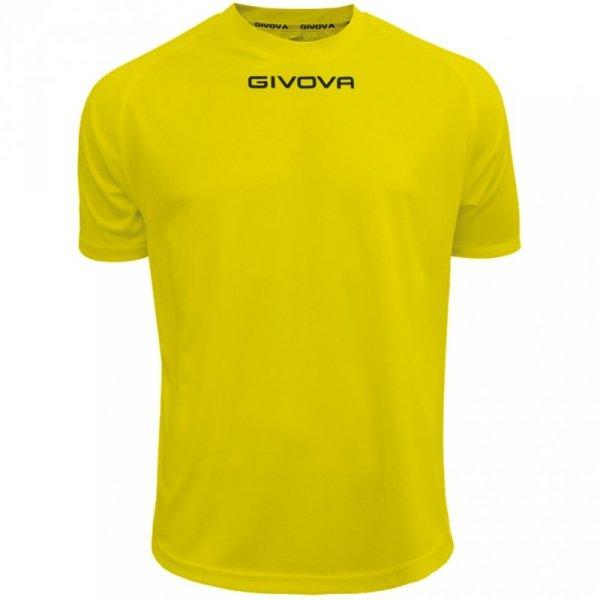 Koszulka Givova One żółta MAC01 0007