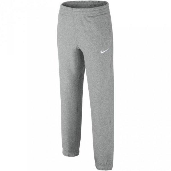 Spodnie dla dzieci Nike B N45 Core BF Cuff JUNIOR szare 619089 063