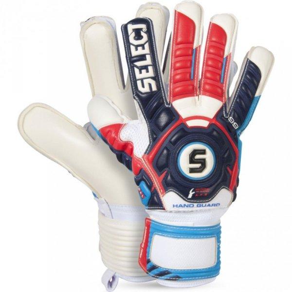 Rękawice bramkarskie Select 99 Hand Guard biało-granatowo-czerwone