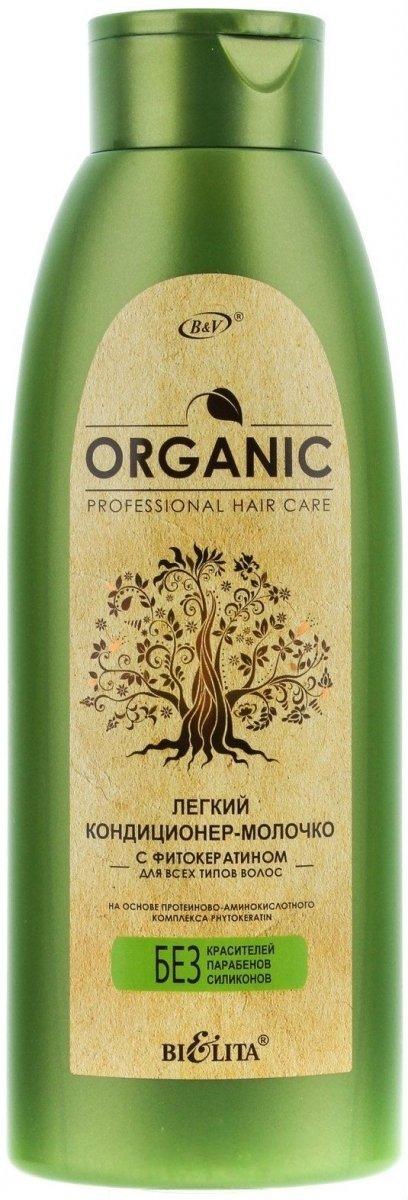 Lekka Odżywka - Mleczko z Fitokeratyną, Organic Hair Care