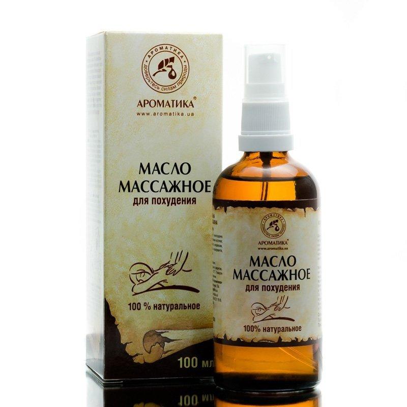 Olej do Masażu Wyszczuplającego, 100% Naturalny, Aromatika, 100ml