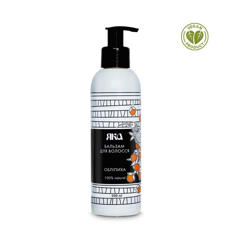 Odżywka do Włosów Regenerująca z Keratyną i Olejem z Rokitnika, 100% Naturalny