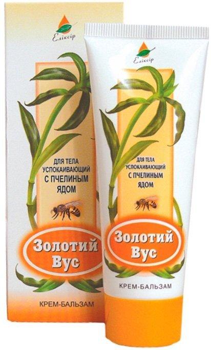 Krem Balsam Złoty Wąs i Jad Pszczeli, Elixir