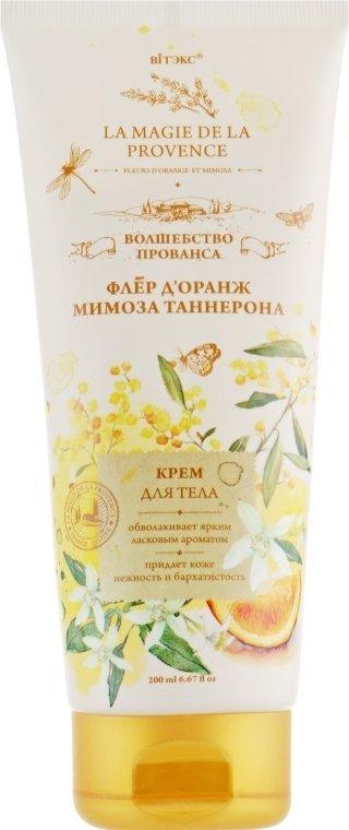 Fleur D'orange i Mimosa Tanneron Krem do Ciała, Magia Prowansji