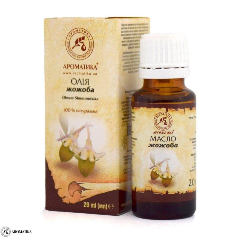 Olej Jojoba, 100% Naturalny, Aromatika, 20ml