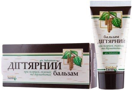 Balsam do Ciała Dziegciowy, Golden Pharm, 50 ml