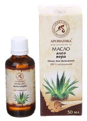 Olej Aloesowy, 100% Naturalny, Aromatika, 50ml