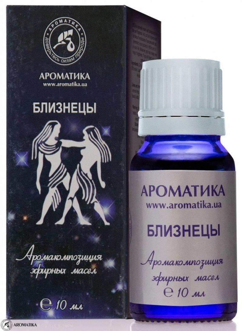 Bliźnięta Kompozycja Olejków Aromaterapeutyczna dla Znaku Zodiaku, 100% Naturalna