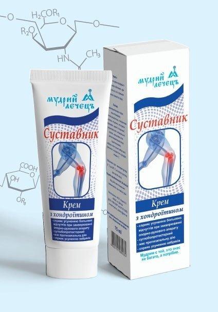 Krem na Stawy Sustavnik z Chondroityną, 75 ml