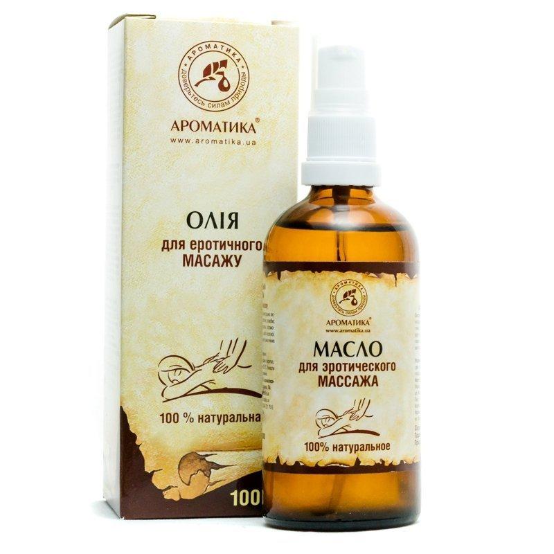 Olej do Masażu Erotycznego, 100% Naturalny, Aromatika, 100ml