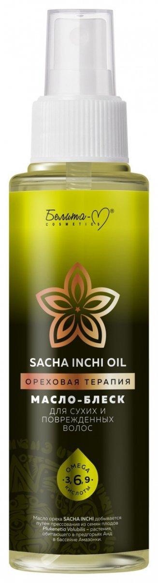 Olejek do Włosów Osłabionych i Zniszczonych, Sacha Inchi