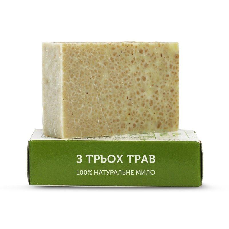 Mydło Naturalne Ręcznie Robione z 3 Ziół, Yaka