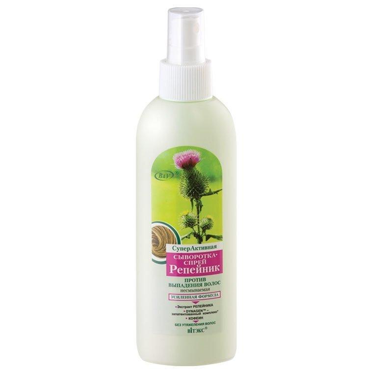 Łopianowe Serum w Sprayu Przeciw Wypadaniu Włosów, Vitex