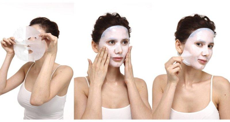 Maska Bio-Celulozowa Algi Morskie Ultranawilżająca, Wygładzająca, Aromatika