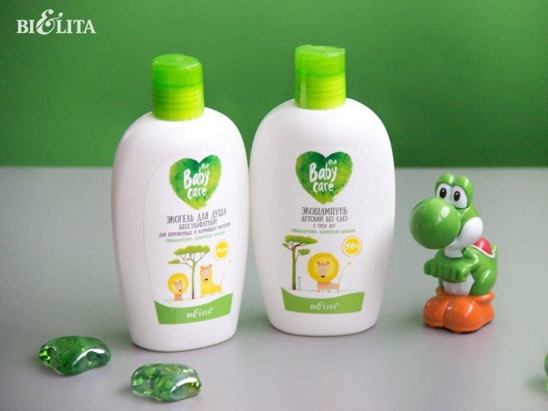 Ekologiczne Mydło dla Dzieci od 3 lat, Baby Care 260ml, Belita