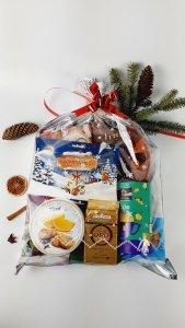 Świąteczna paczka ze słodyczami duża nr 3 dla firm