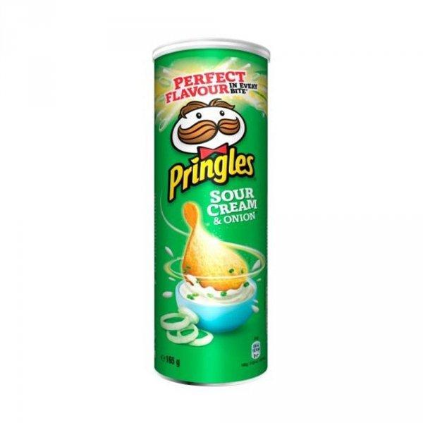 Pringles Chipsy CREAM&ONION 165g