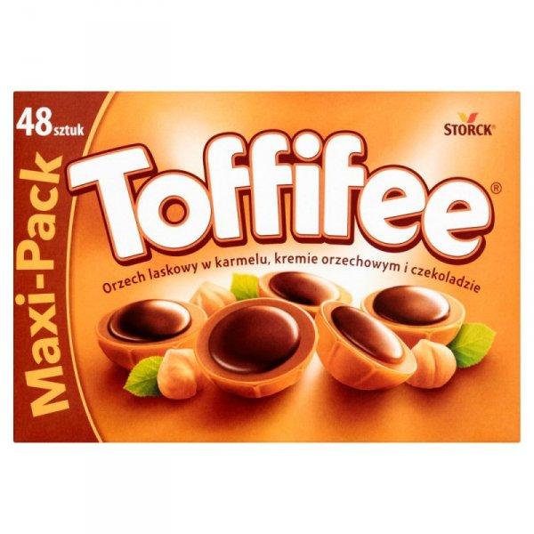 Toffifee Orzech laskowy w karmelu kremie orzechowym i czekoladzie 400 g